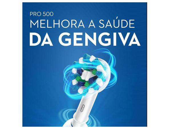 Imagem de Escova de Dente Elétrica Oral-B - Professional Care 500 Cross Action