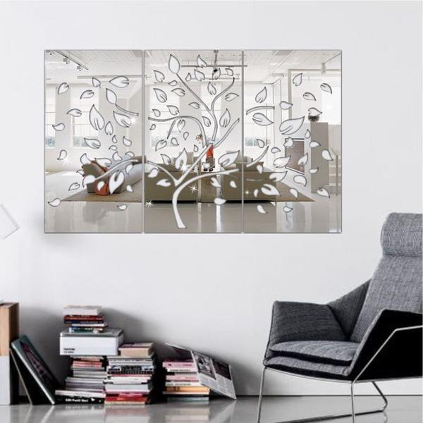 Imagem de Espelho Decorativo Árvore Primavera Em Acrílico