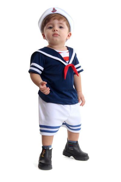 Imagem de Fantasia Marinheiro Bebê Verão - Marinheiros