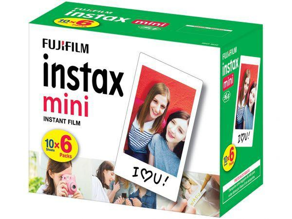 Imagem de Filme Instantâneo Instax Mini 60 Poses - Fujifilm