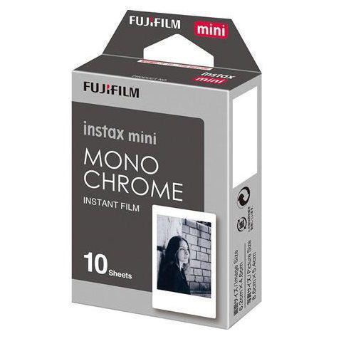 Imagem de Filme para Instax Mini Monocromático com 10 poses - 10 Fotos Instantâneas Monochrome - Fujifilm
