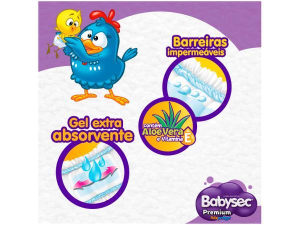Imagem de Fralda Babysec Premium Galinha Pintadinha - Tam. M 5 a 9,5kg 34 Unidades