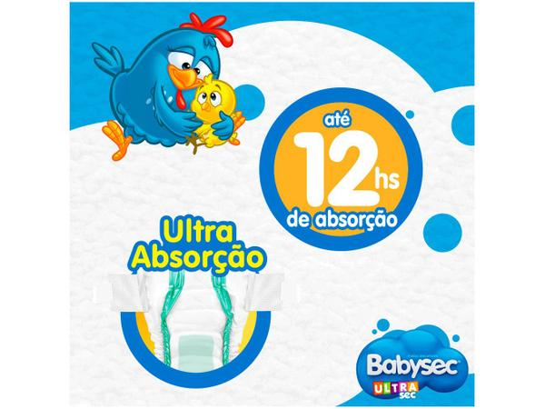 Imagem de Fralda Babysec Ultrasec Galinha Pintadinha Tam. P - 0 a 6kg 46 Unidades