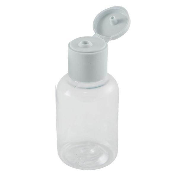 Imagem de Frasco de Plástico PET de 30 ml para álcool gel flip top 100 unid