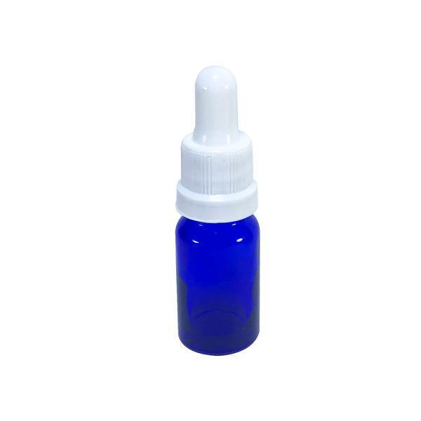 Imagem de Frasco De Vidro Azul Conta Gotas 10ml (20 Peças)