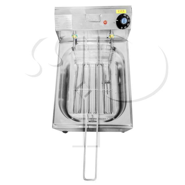 Imagem de Fritadeira Elétrica Com Óleo Industrial 5 Litros Aço Inox 3000W 220V ou 2500W 110V - Ipe Cozinhas
