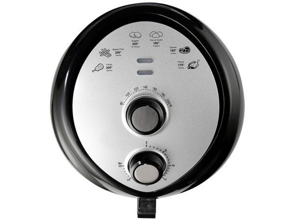 Imagem de Fritadeira Elétrica sem Óleo/Air Fryer Nell Fit - Preto 3,2L com Timer