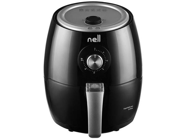 Imagem de Fritadeira Elétrica sem Óleo/Air Fryer Nell Smart - Preta 2,4L com Timer