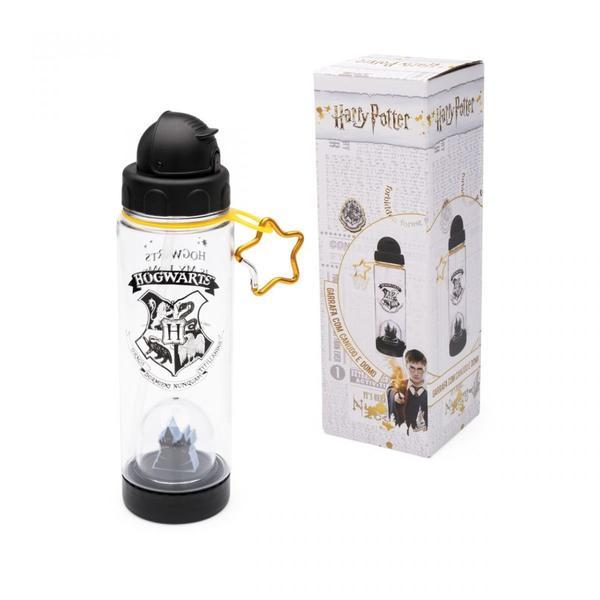 Imagem de Garrafa com canudo e domo harry potter hogwarts - Ludi