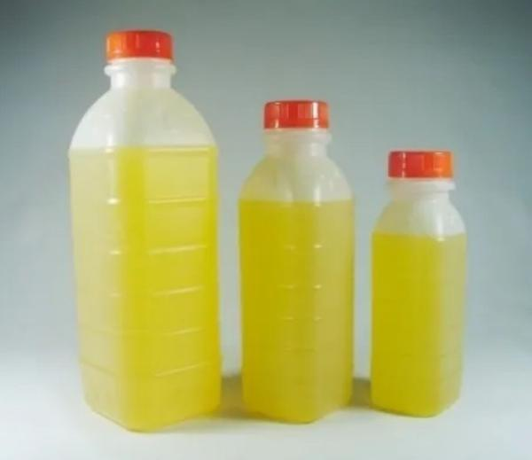 Imagem de Garrafa pet 300 ml deco com tampa laranja 50 unidades