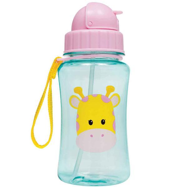 Imagem de Garrafinha Com Canudo De Silicone Animal Fun 400ml - Buba Infantil