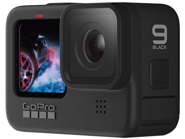 """Imagem de GoPro HERO9 Black 20MP Wi-Fi Bluetooth GPS - 2,27"""" à Prova de Água Transmissão ao Vivo"""