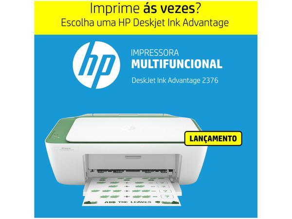 Imagem de Impressora Multifuncional HP DeskJet Ink Advantage - 2376 Jato de Tinta Colorida
