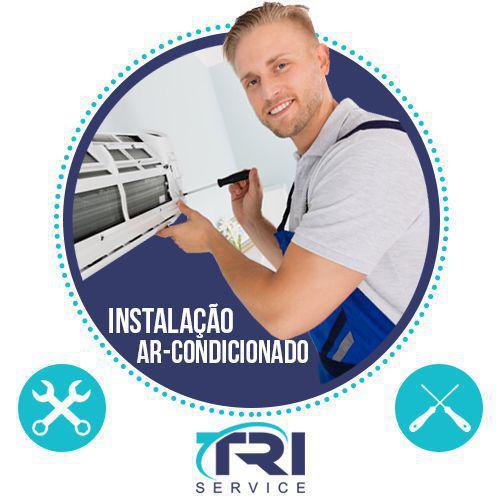 Imagem de Instalação de Ar Condicionado Split Hi Wall de 7000 a 10500 BTUs Tri Service