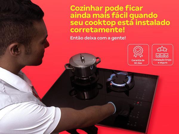 Imagem de Instalação de cooktop  os melhores técnicos, serviço limpo e seguro, qualidade garantida