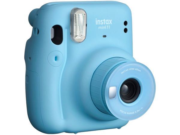 Imagem de Instax Mini 11 Fujifilm Azul Flash Automático - com Acessórios