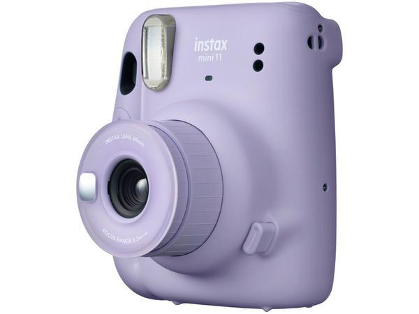 Imagem de Instax Mini 11 Fujifilm Lilás Flash Automático - com Acessórios