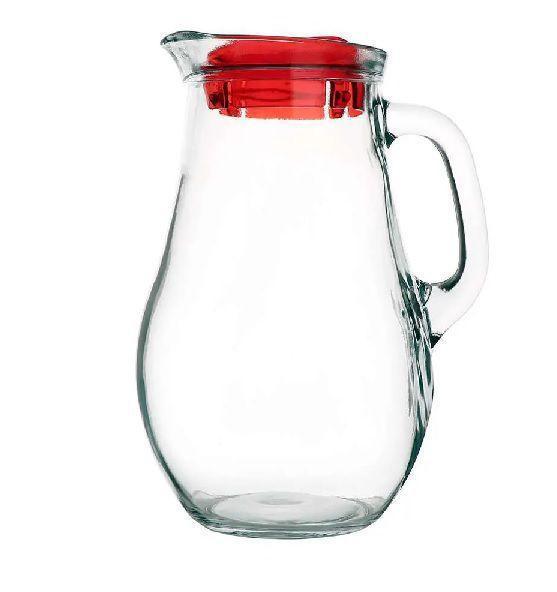 Imagem de Jarra bistro em vidro 1.8l com tampa vermelha