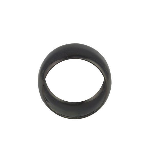 Imagem de Jogo anéis de guardanapo Lyor Alliance 4,5cm 4 peças preto