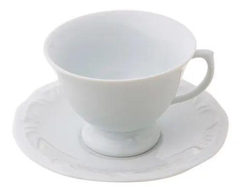 Imagem de Jogo Chá E Café 29 Peças Pomerode Branco