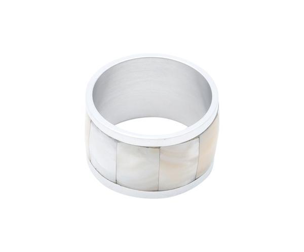 Imagem de Jogo de Anéis para Guardanapo em Inox Motta - 5cm