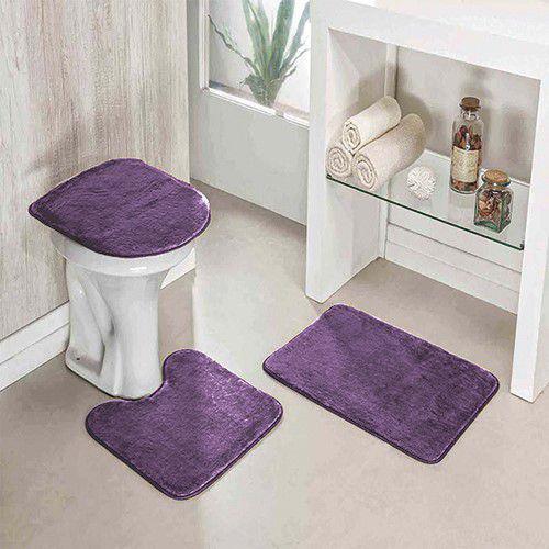 Imagem de Jogo de banheiro Lux Pop Carpete sortido