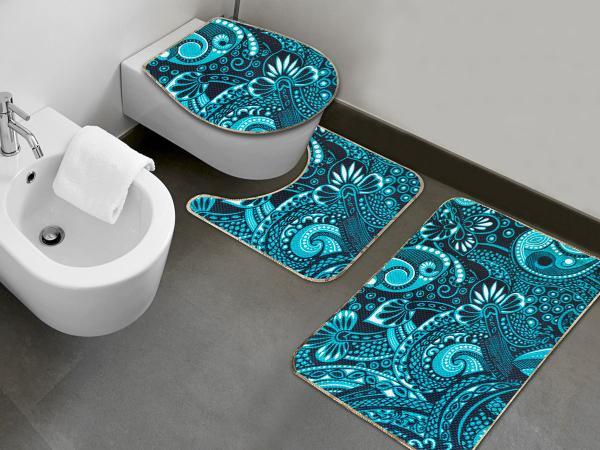 Imagem de Jogo de Banheiro Oceano 3 Unidades