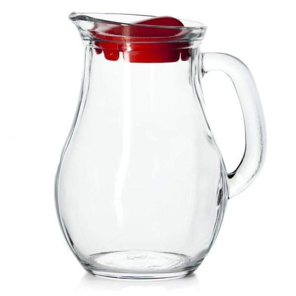 Imagem de Jogo para refresco 7 peças em vidro transparente