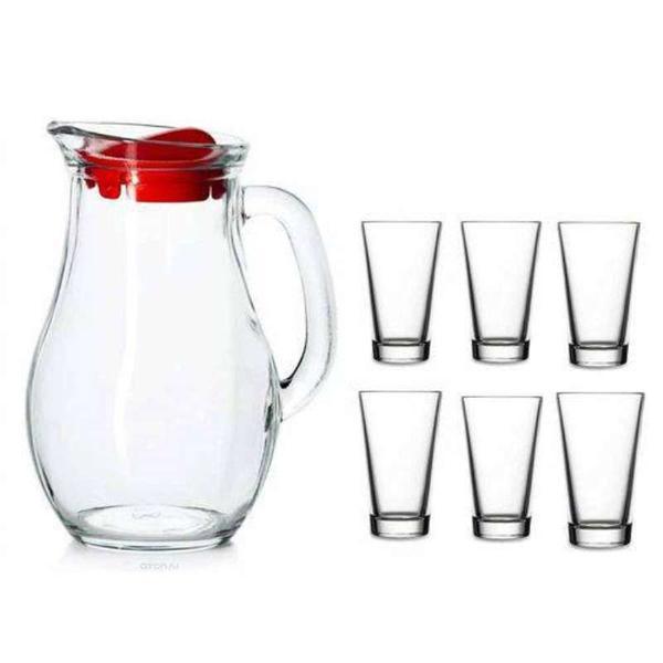 Imagem de Jogo para refresco Bistro com 7peças 1.8L Pasabahce 46391