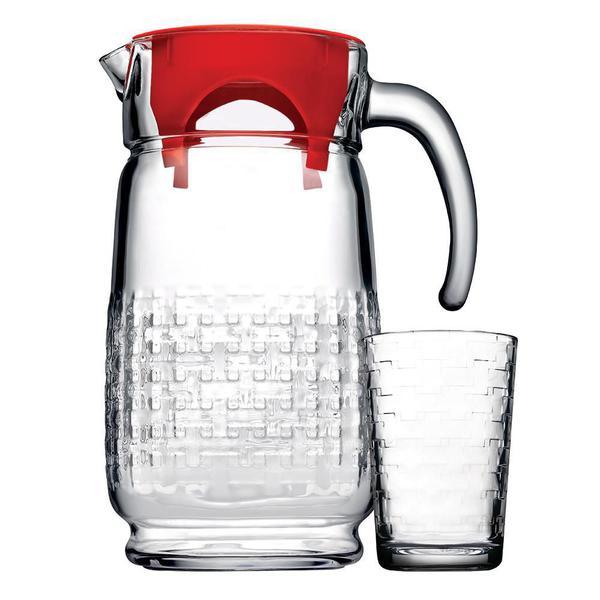 Imagem de Jogo para refresco Habitat 7 pecas em vidro (1,7L+6x200ml)