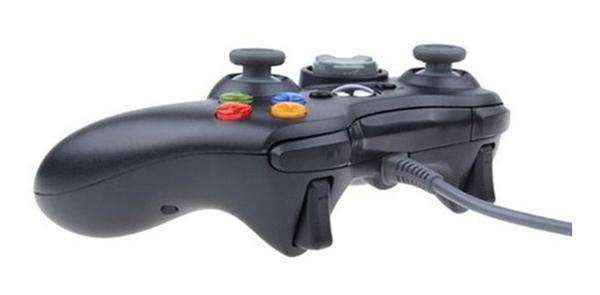 Imagem de Kit 2 Controle Compatível com Xbox 360 Pc Com Fio