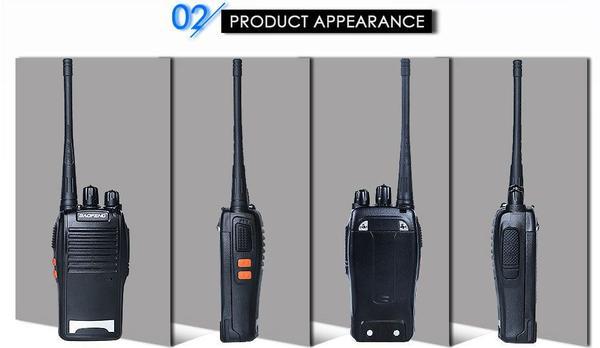 Imagem de Kit 2 Radio 777s Vhf/uhf 16 Canais Comunicador Profissional