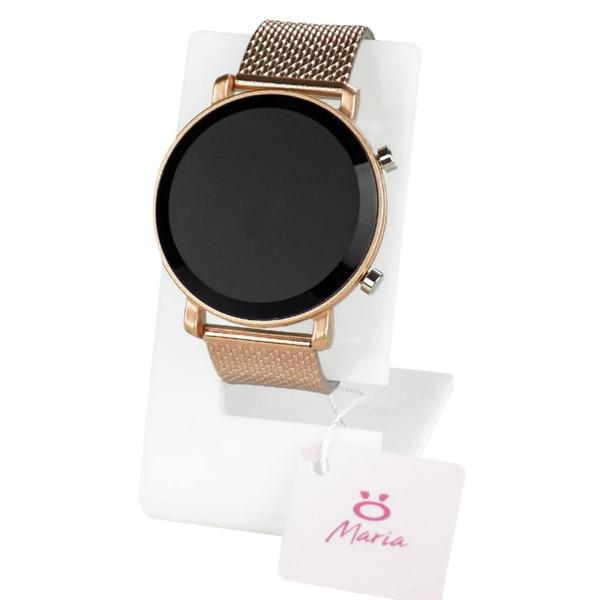 Imagem de Kit 4 Relógios Feminino Led Dourado - Orizom