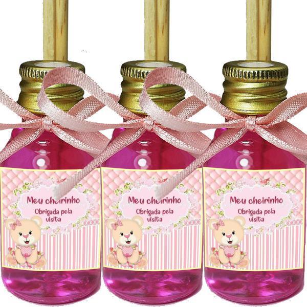 Imagem de Kit 50 Aromatizador Lembrancinha de Maternidade Chá de Bebê Ursinha Rosa
