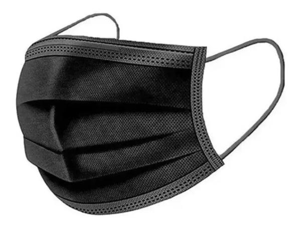Imagem de Kit 50 Máscara Descartável Tripla Camada Com Clip Nasal Kit 50 Unid