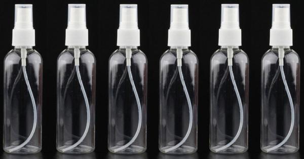 Imagem de Kit 6 Frascos Spray 80mL - Plástico- CK4916 - Clink