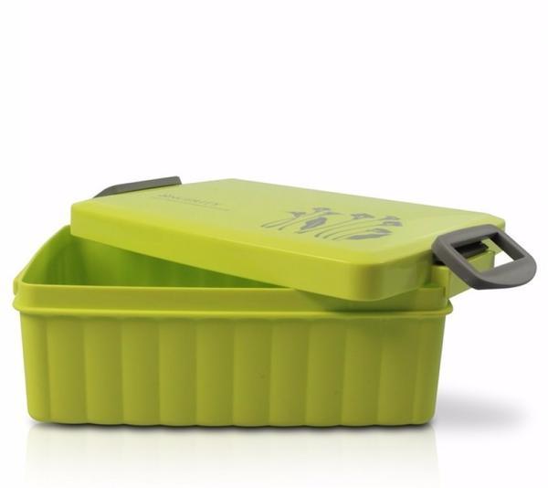 Imagem de Kit Bolsa Térmica de mão cinza com marmita e Copo verde