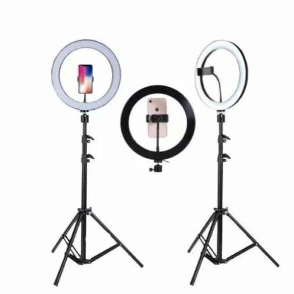 Imagem de Kit Completo Ring Light C/ Tripé Dimmer Youtuber Selfie Pro - Centrão