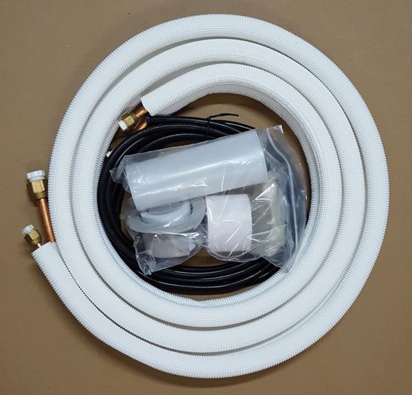 """Imagem de Kit instalacao ar condicionado split 12k a 18k btus 1/2"""" e 1/4"""" - cód: 22238"""