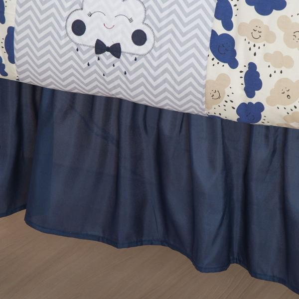 Imagem de Kit Protetor de Berço Americano Nuvem Menina Menino 12 Peças Varios Modelos