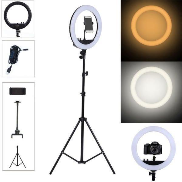 """Imagem de Kit Ring Light 10"""" C/ Tripé 2,10m Youtuber Blogueira Lives 1 Ano de Garantia - Redshock"""