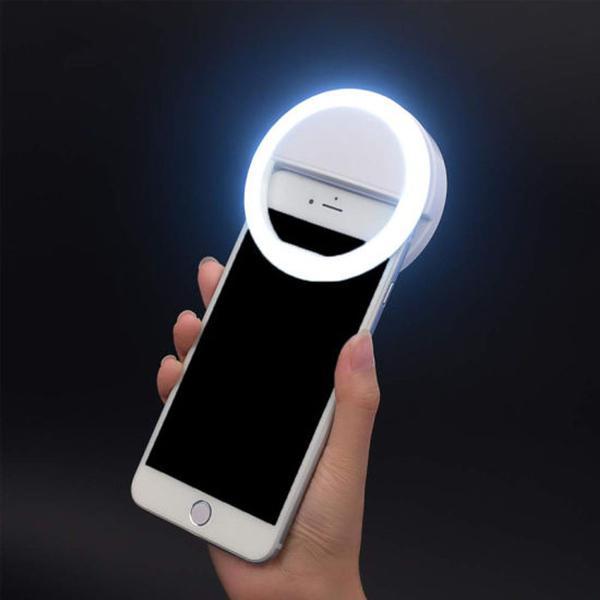Imagem de Kit Youtuber 9x1 Profissional Microfone de Lapela Celular + 2 Tripés Flexíveis + Bastão de Selfie