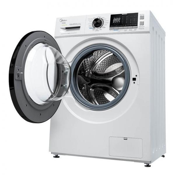 Imagem de Lava e Seca Midea Storm Wash Inverter 10,2 Kg Branca Tambor 4D  127 Volts