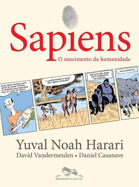 Imagem de Livro - Sapiens (Edição em quadrinhos)