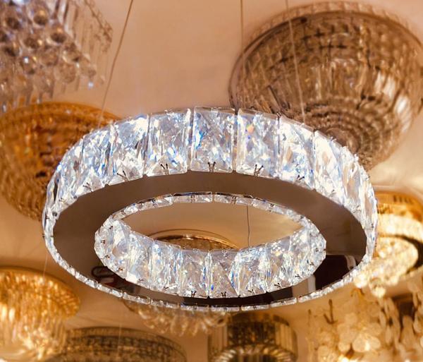 Imagem de Lustre de Cristal Legítimo K9 - Dubai