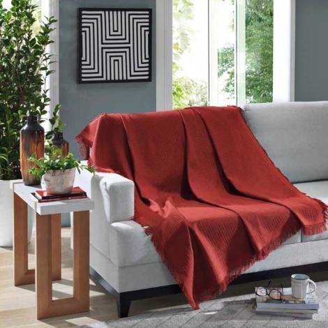Imagem de Manta Decorativa Retangular 150x210cm Marrocos - Dohler