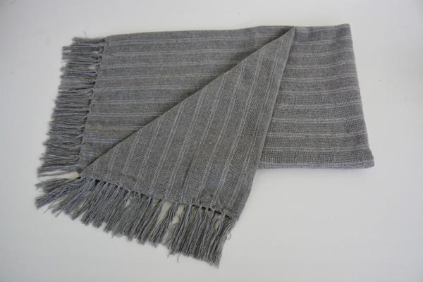 Imagem de Manta para sofá Algodão Lirio 1,20 x 1,80 Prata