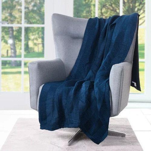 Imagem de Manta sofá plissada 120x160 tessi