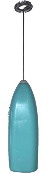 Imagem de Mini Mixer Misturador Manual Leite Cafe Shake 20cm - Azul
