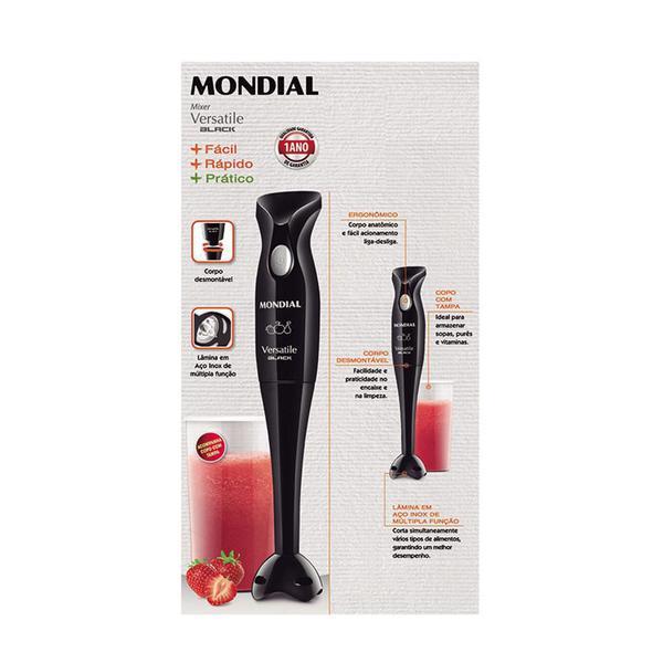 Imagem de Mixer Mondial Versatile Black 200W - M-08